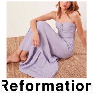Reformation prairie maxi dress
